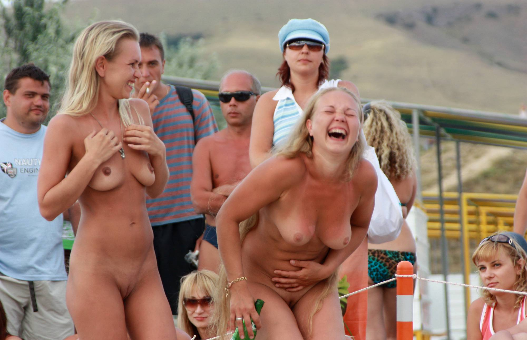 Nudist Pictures Neptune Race Preperation - 1