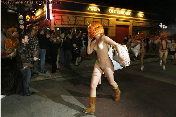 Nudist Gallery Nude Pumpkin Runners (NPR) - 1