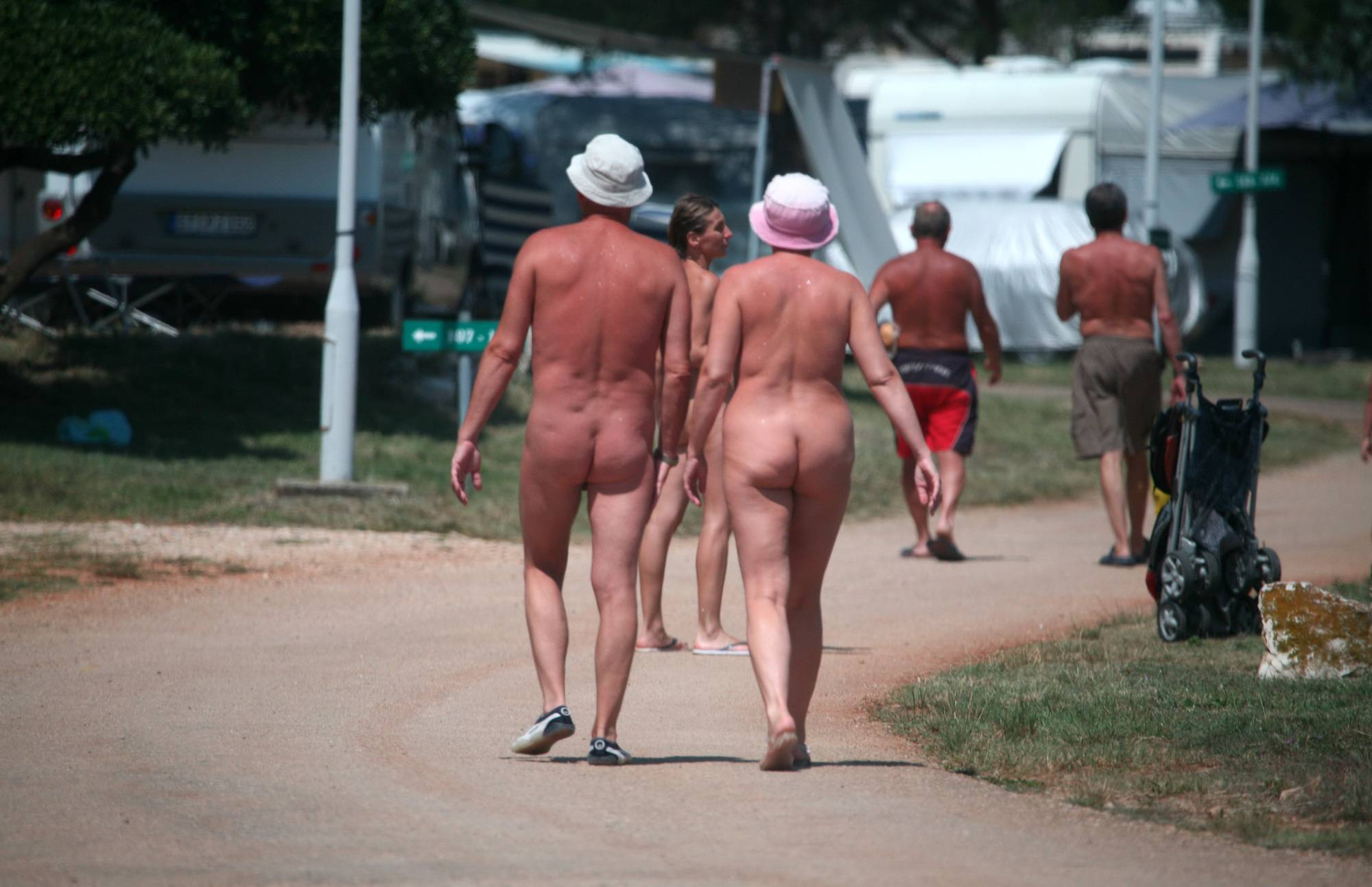 Packup and Nudists Leaving - 1