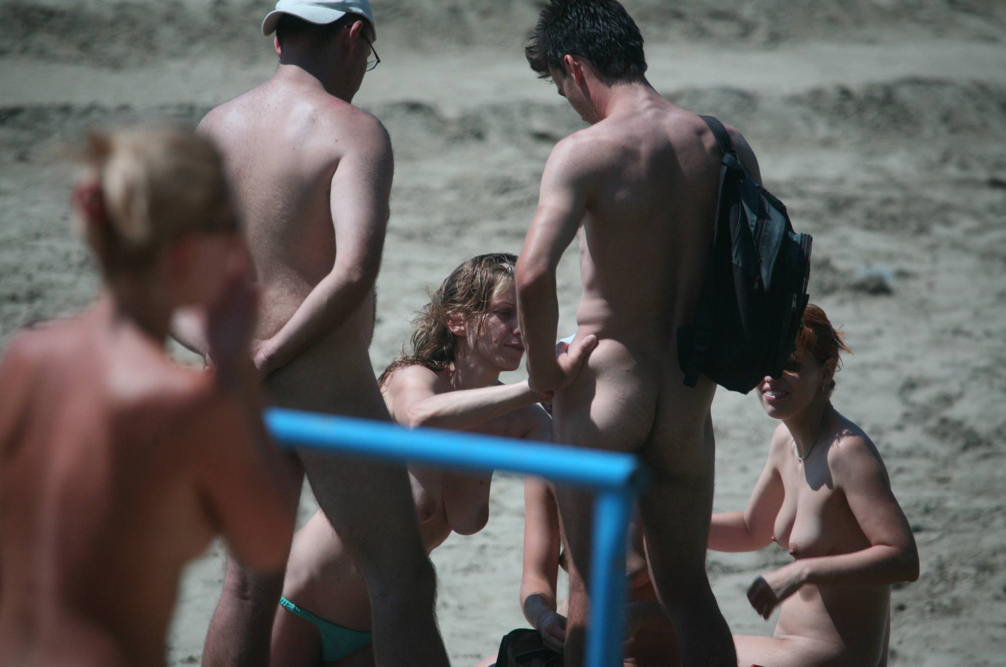 Nudist Pics Pier Sand Square Entrance - 1