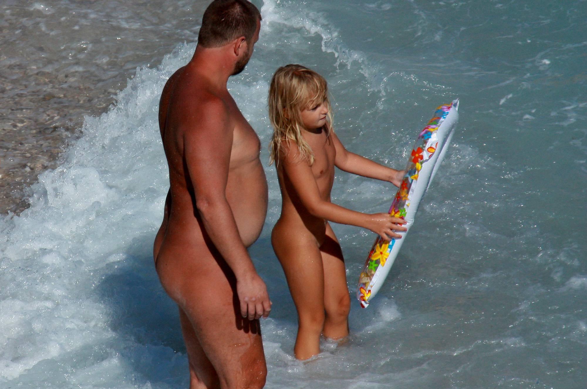 Nudist Photos Nudist Kid Family Floaters - 1