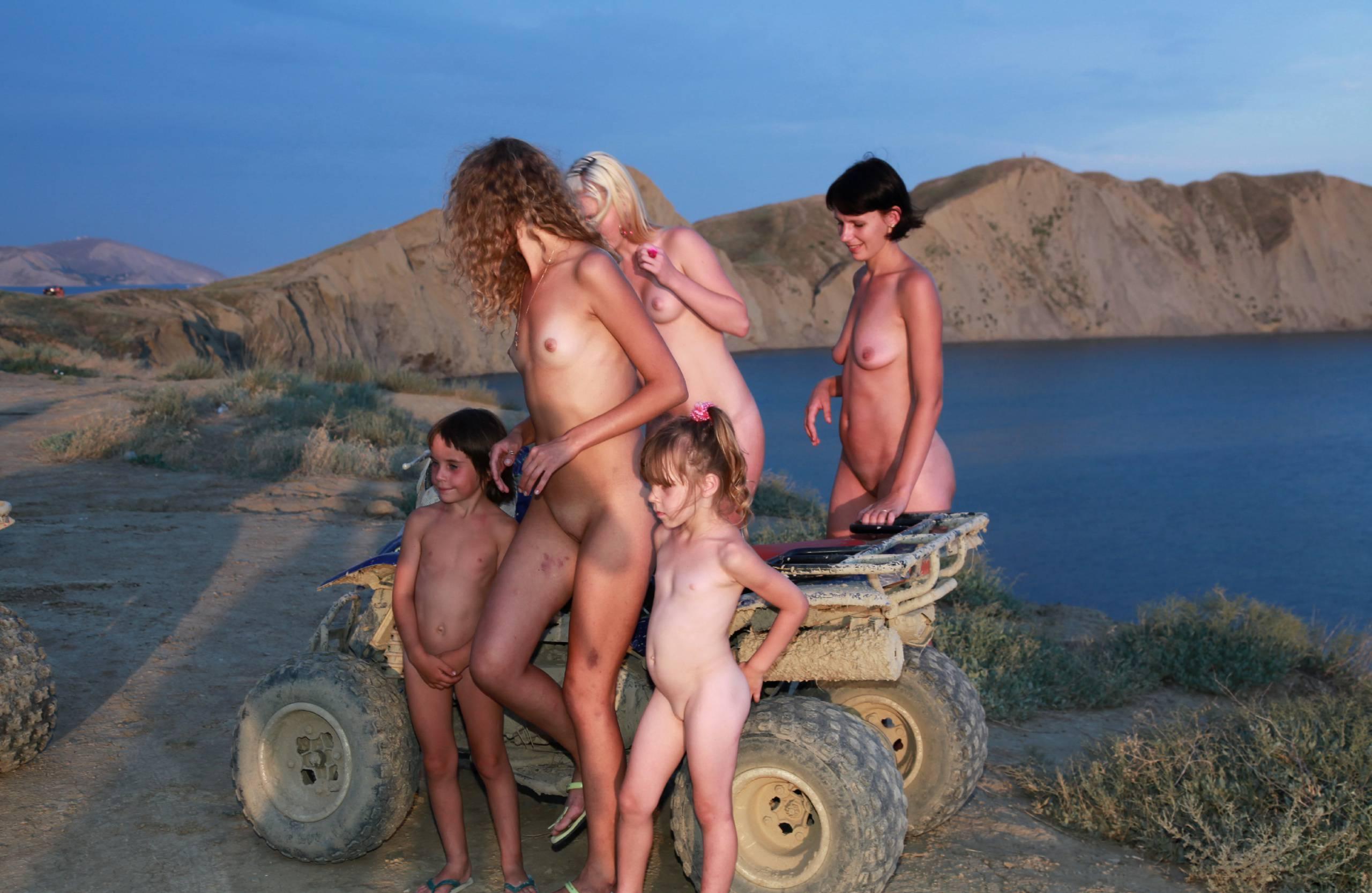 Nudist Gallery Blue Sky ATV Riding - 2