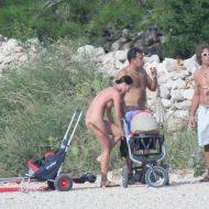 Croatian Baska Beach Visit