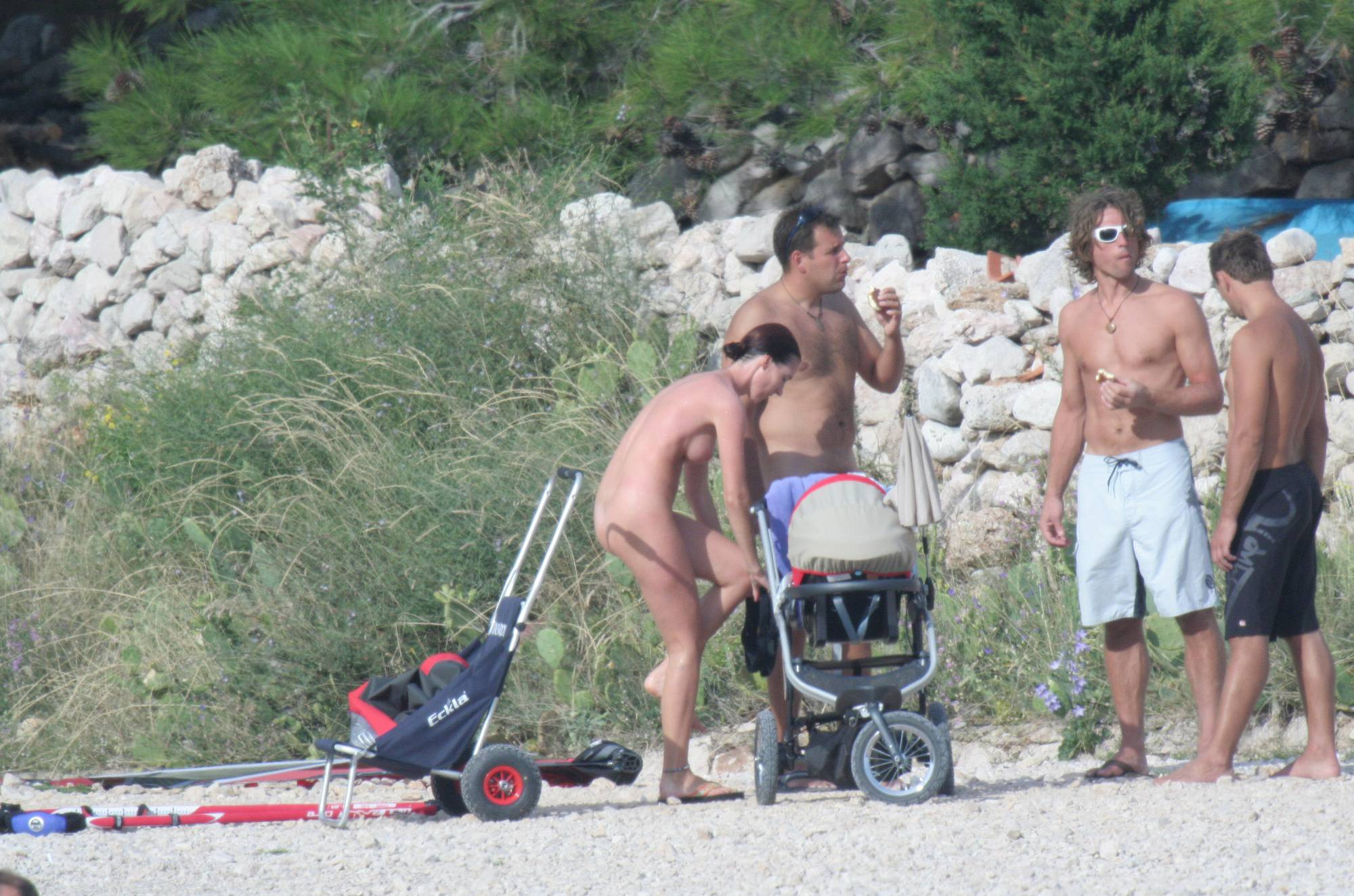 Croatian Baska Beach Visit - 1