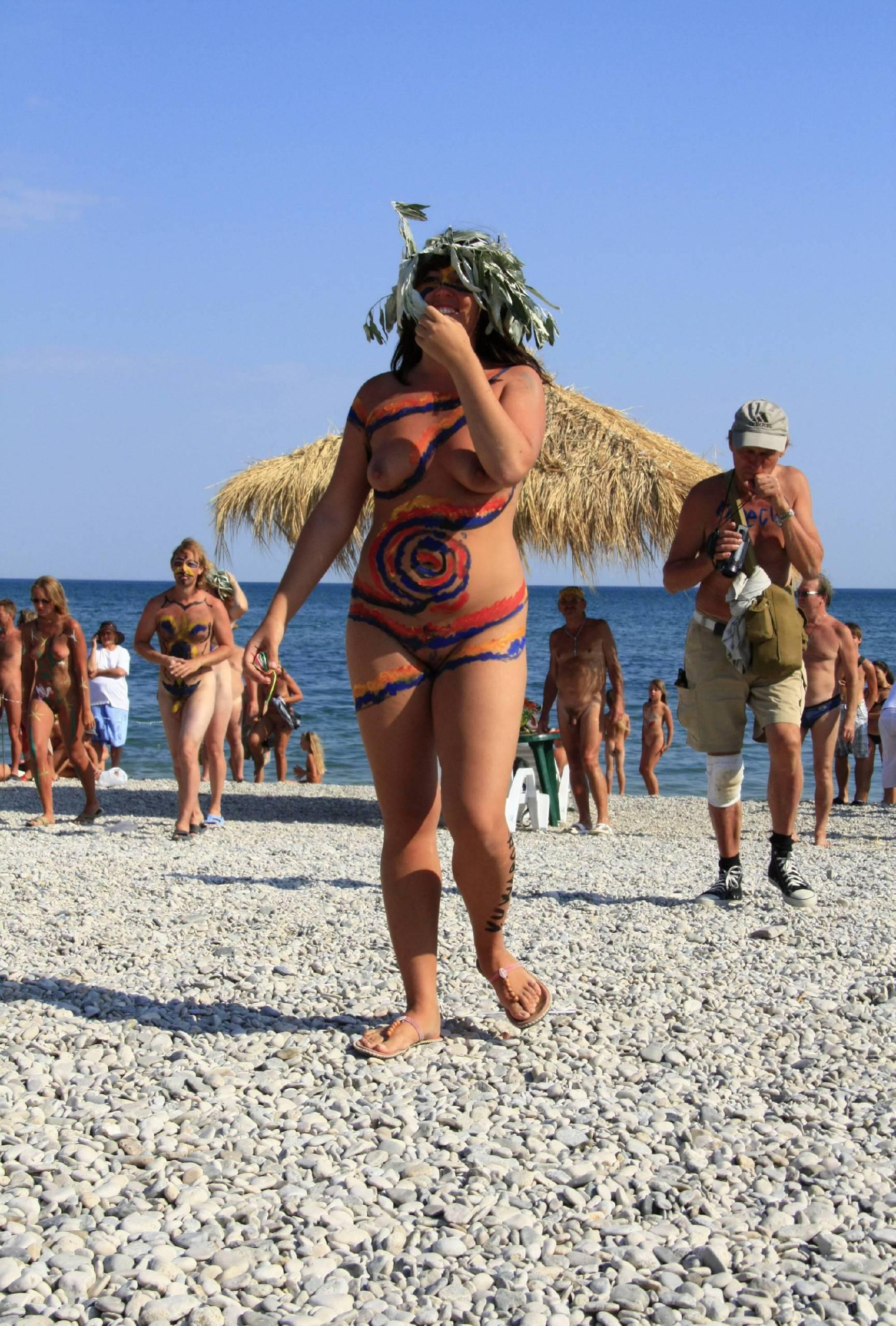 Nudist Gallery Neptune Women Dancing - 1