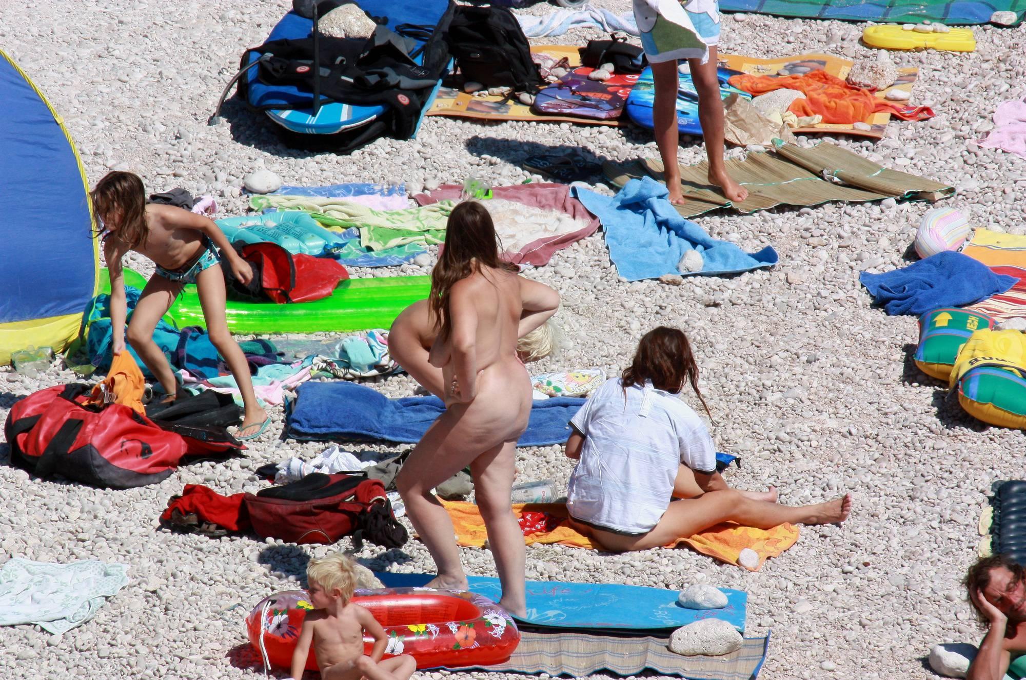 Nude Family Beach Colors - 1