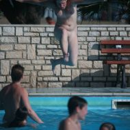 Nudist Pool Jumpers Two
