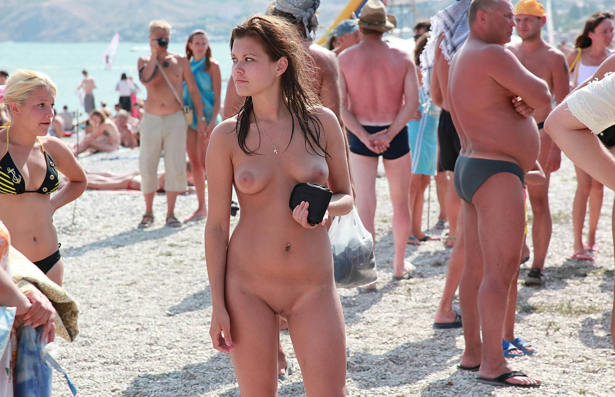 Nudist Gallery Sun-Lit Beach Naturists - 1
