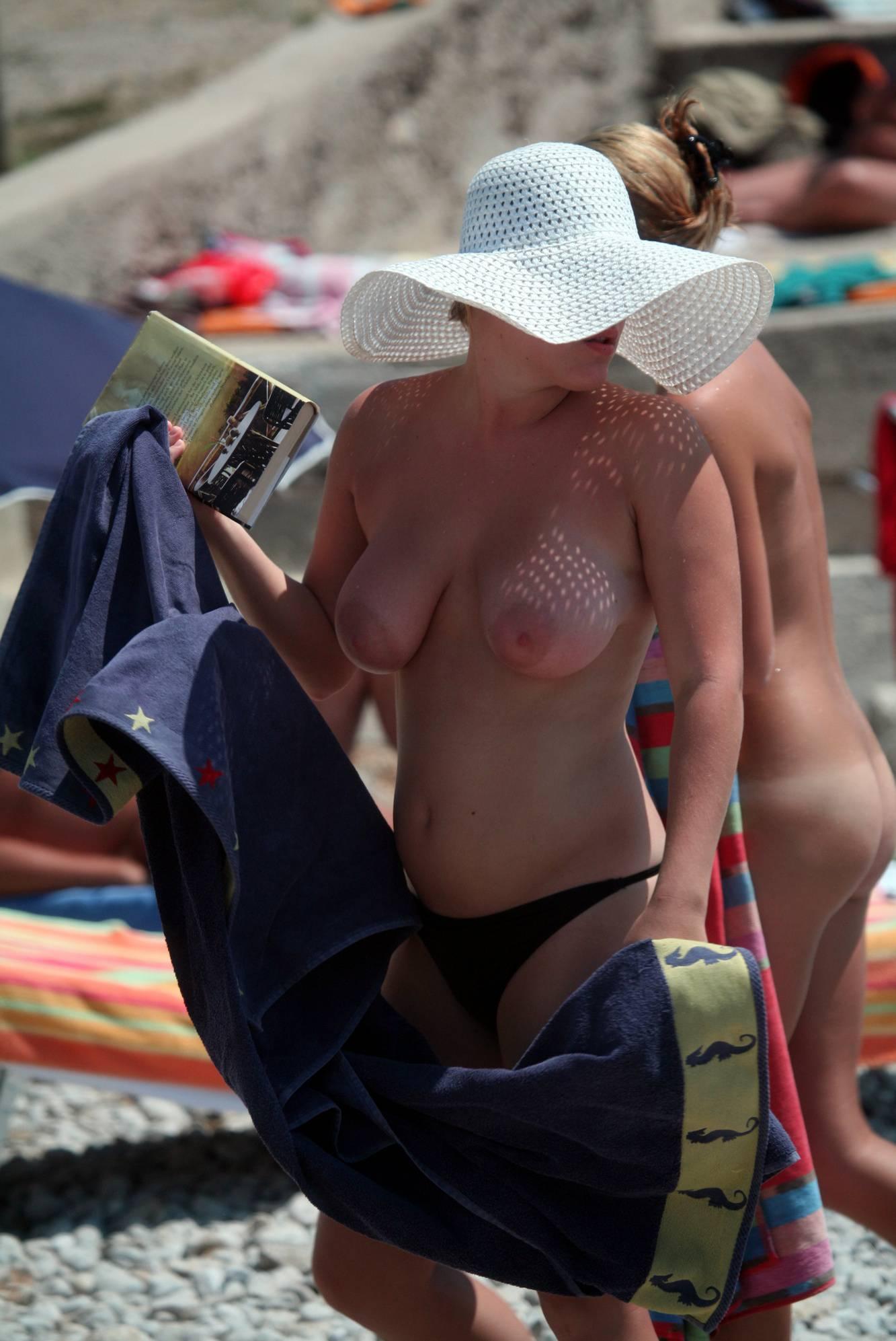 Nudist Pics Trail of Two Naturist Girls - 2