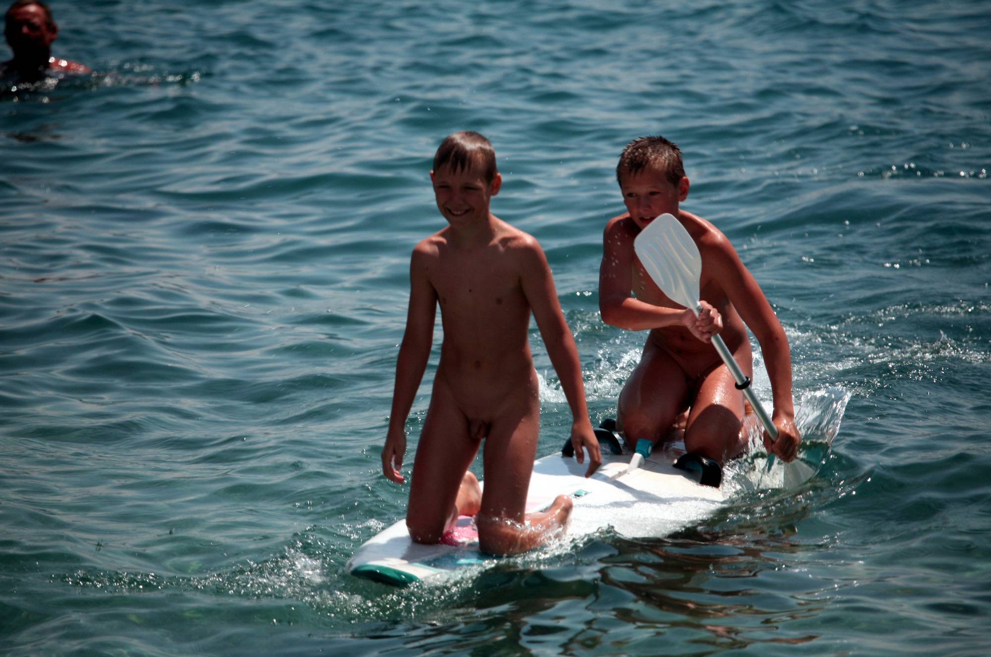 Nudist Photos Boys Nudist Water Surfing - 1