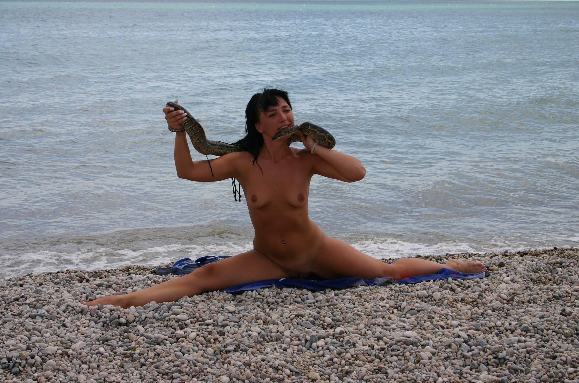 Crimea Nude Snake Show - 2