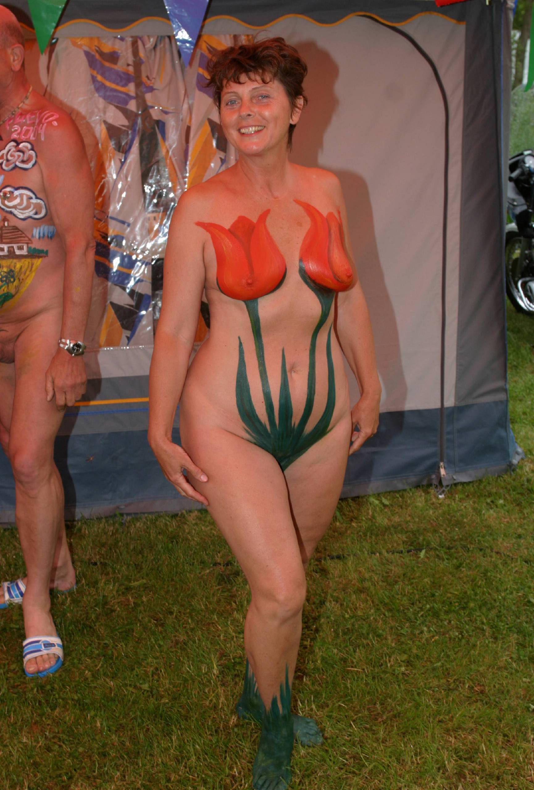 Holland Body Paintings - 2