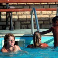 Nudist Pool Jumping Time
