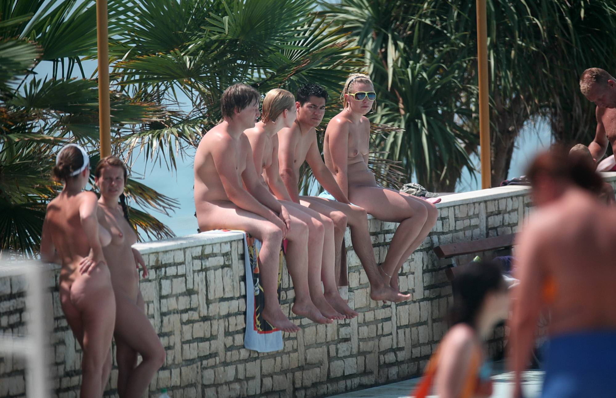 Nudist Pictures The Nudist Ledge Group - 1