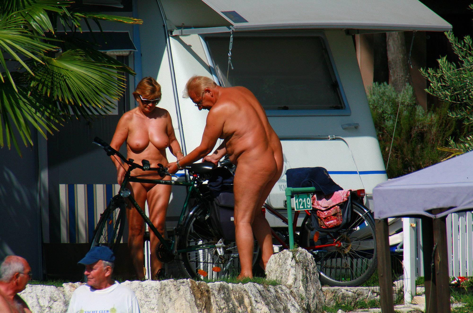 Nudist Pics Uka FKK Outdoor Biking - 2