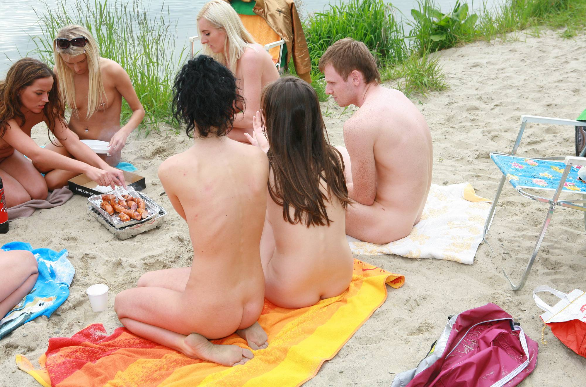 Nudist Photos Lakeside Picnic For All - 1