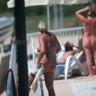 Nudist Pool Walk Around