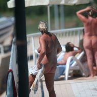 Nudist Pool Walk Around