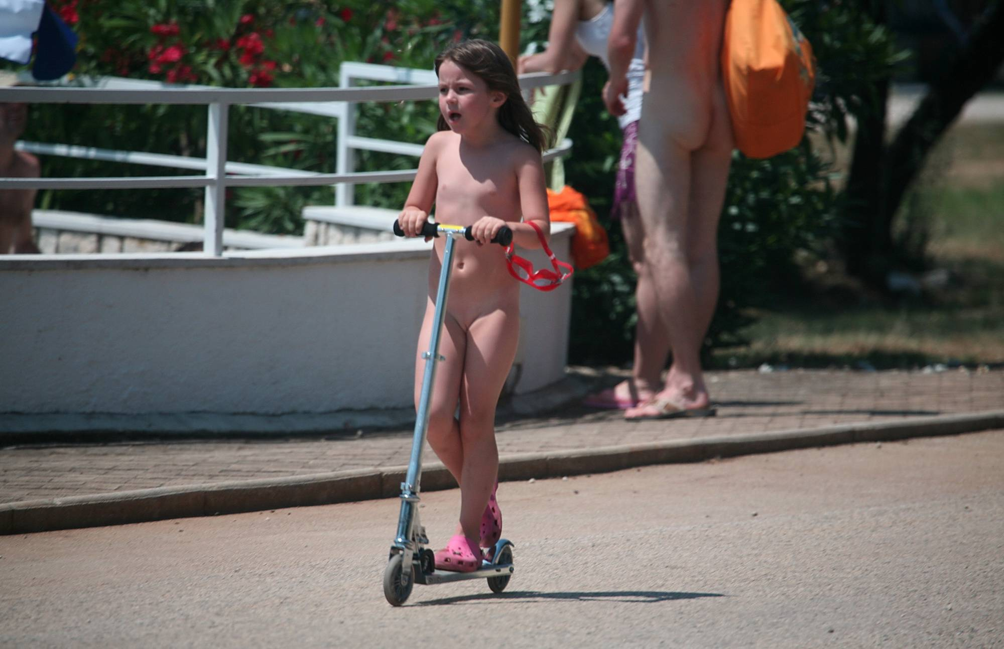 Nudist Pictures Outdoor Scooters and Bikes - 2
