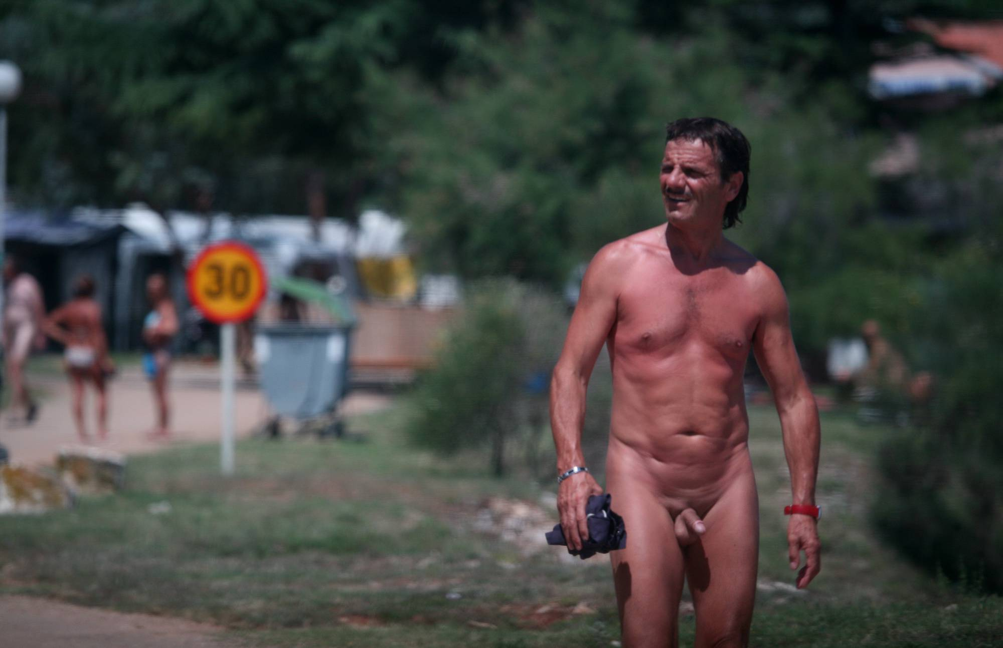 Packup and Nudists Leaving - 2