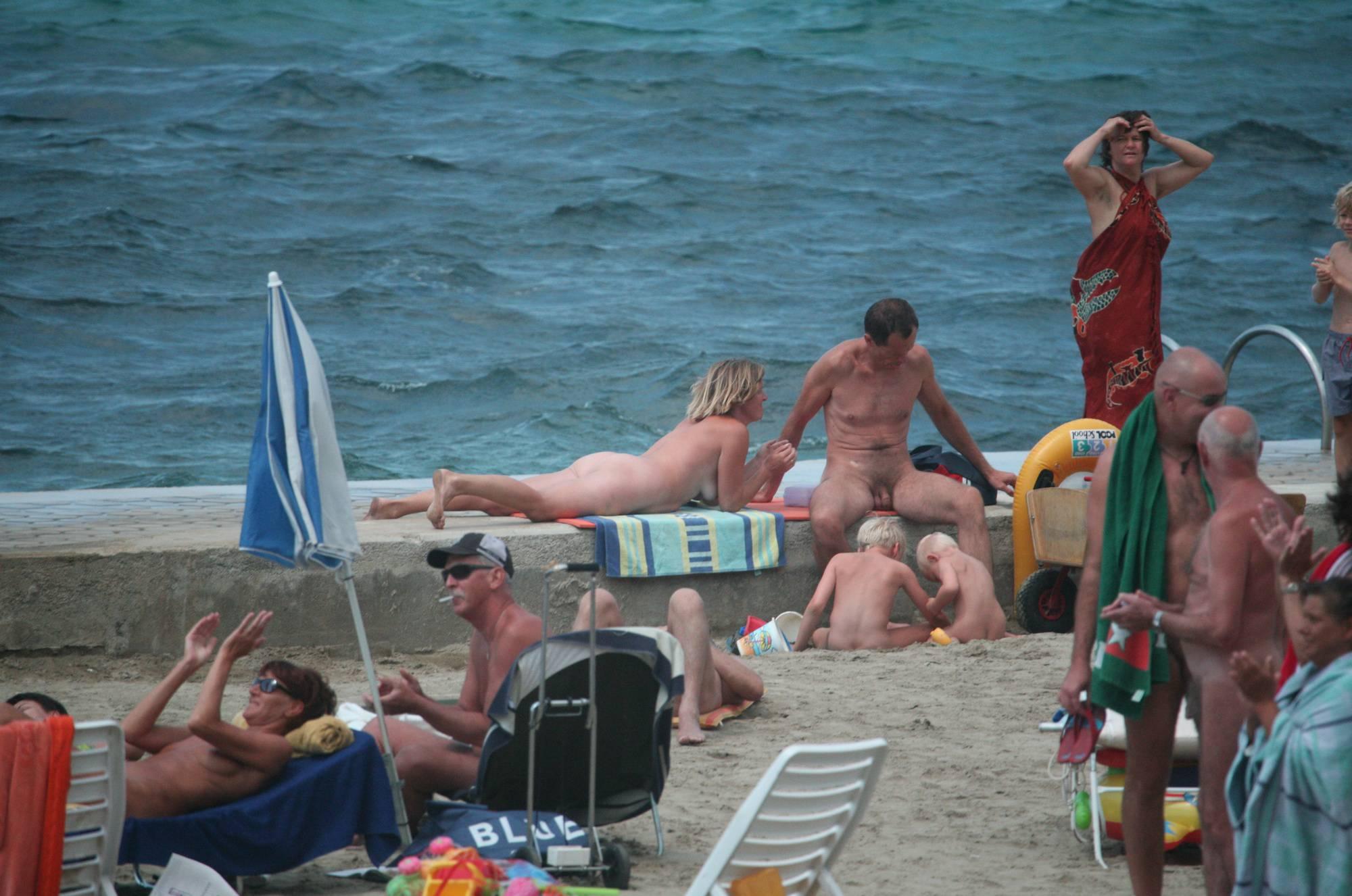Pier Sand Square Bathers - 1