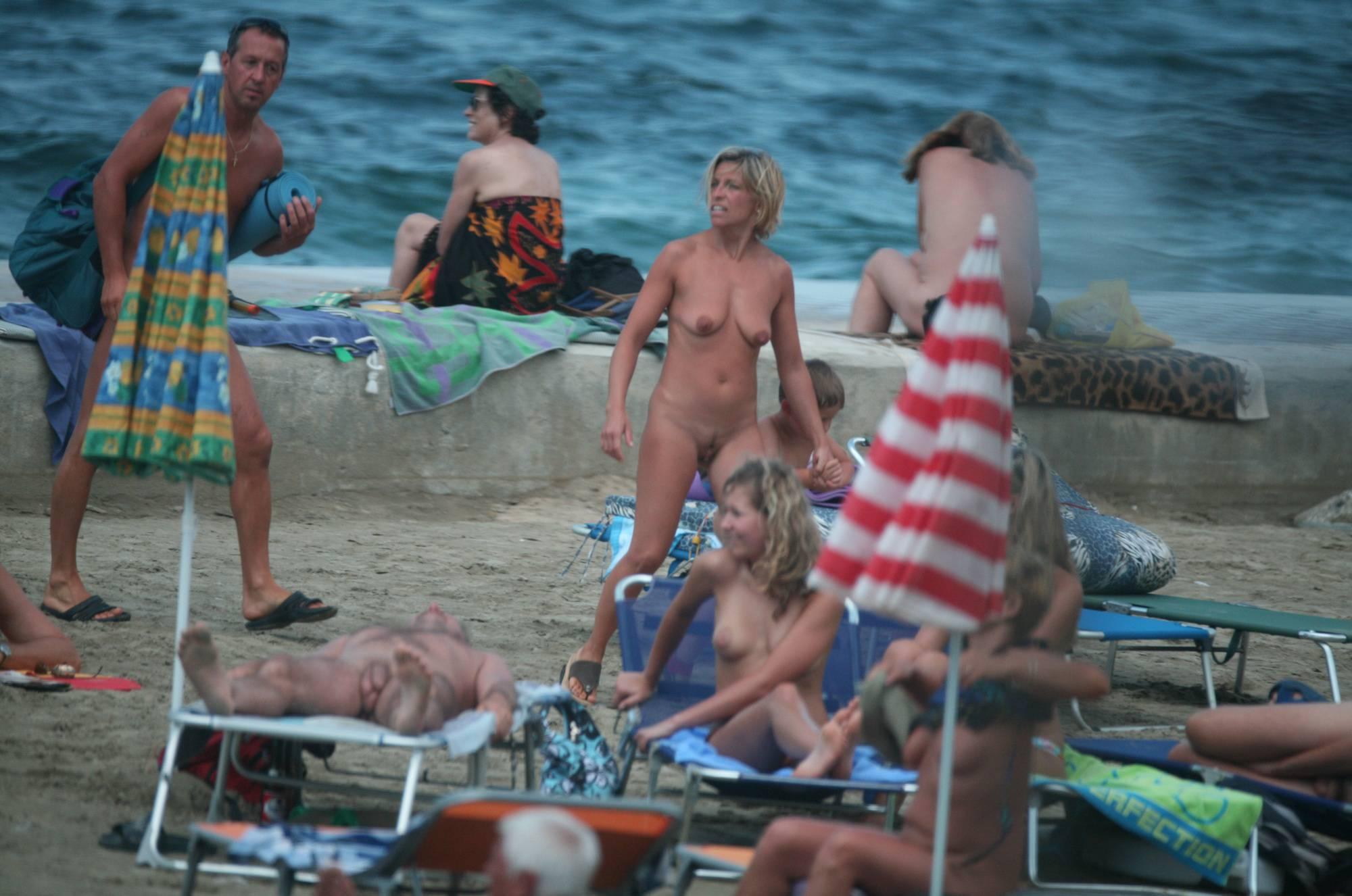 Pier Sand Square Bathers - 2