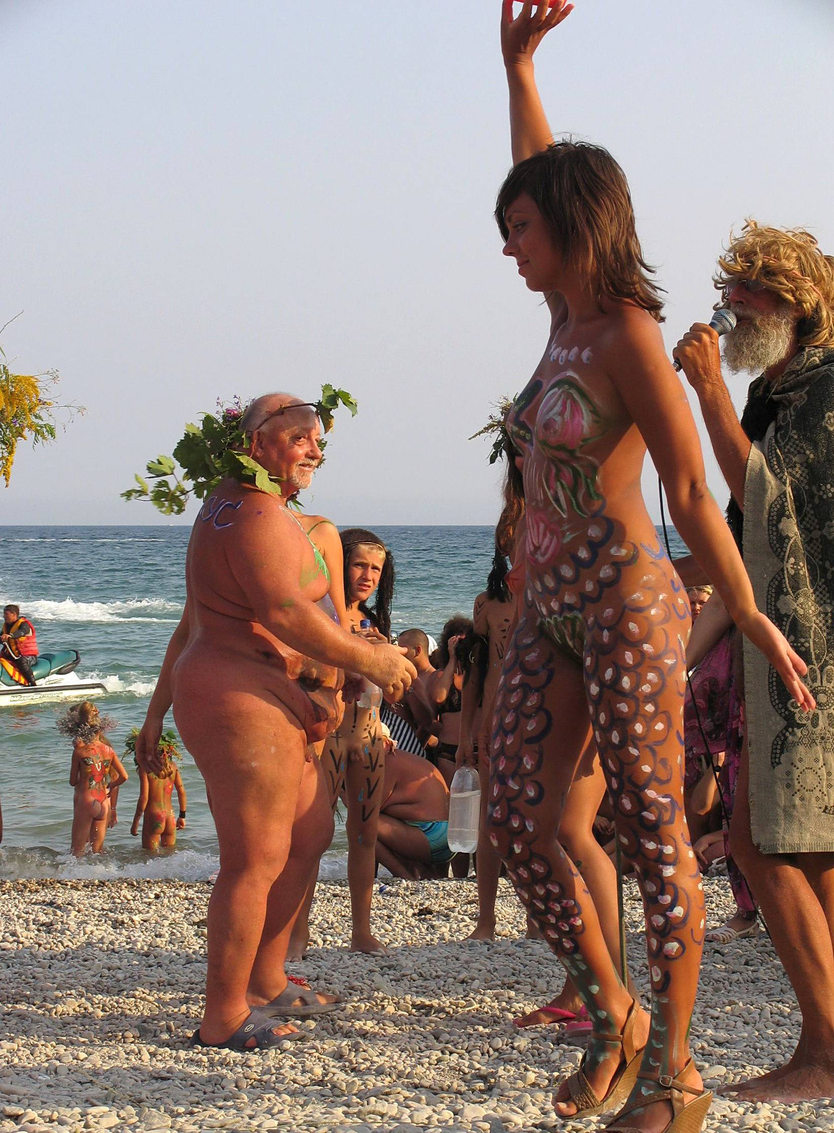 Nudist Photos Rocky Hill Luau Pow Wow - 1