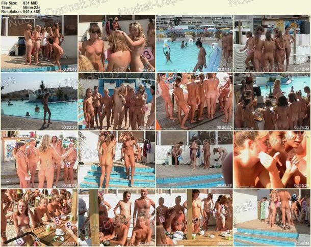 Shot of Junior Nudist Contest 2