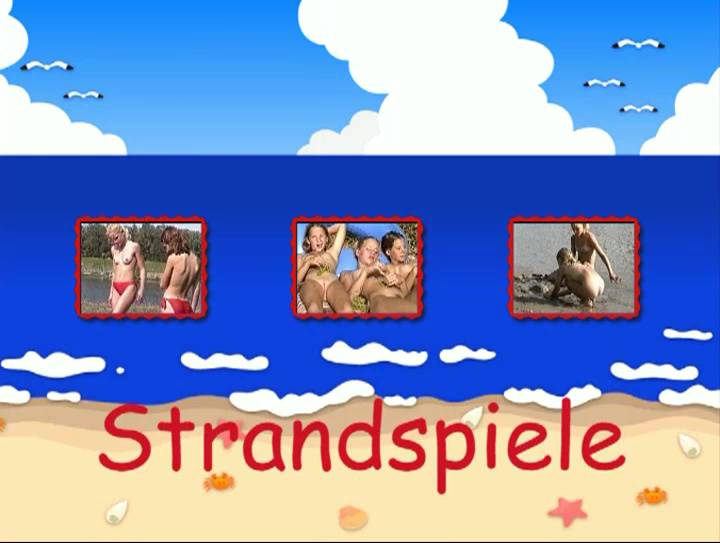 Strandspiele - Poster