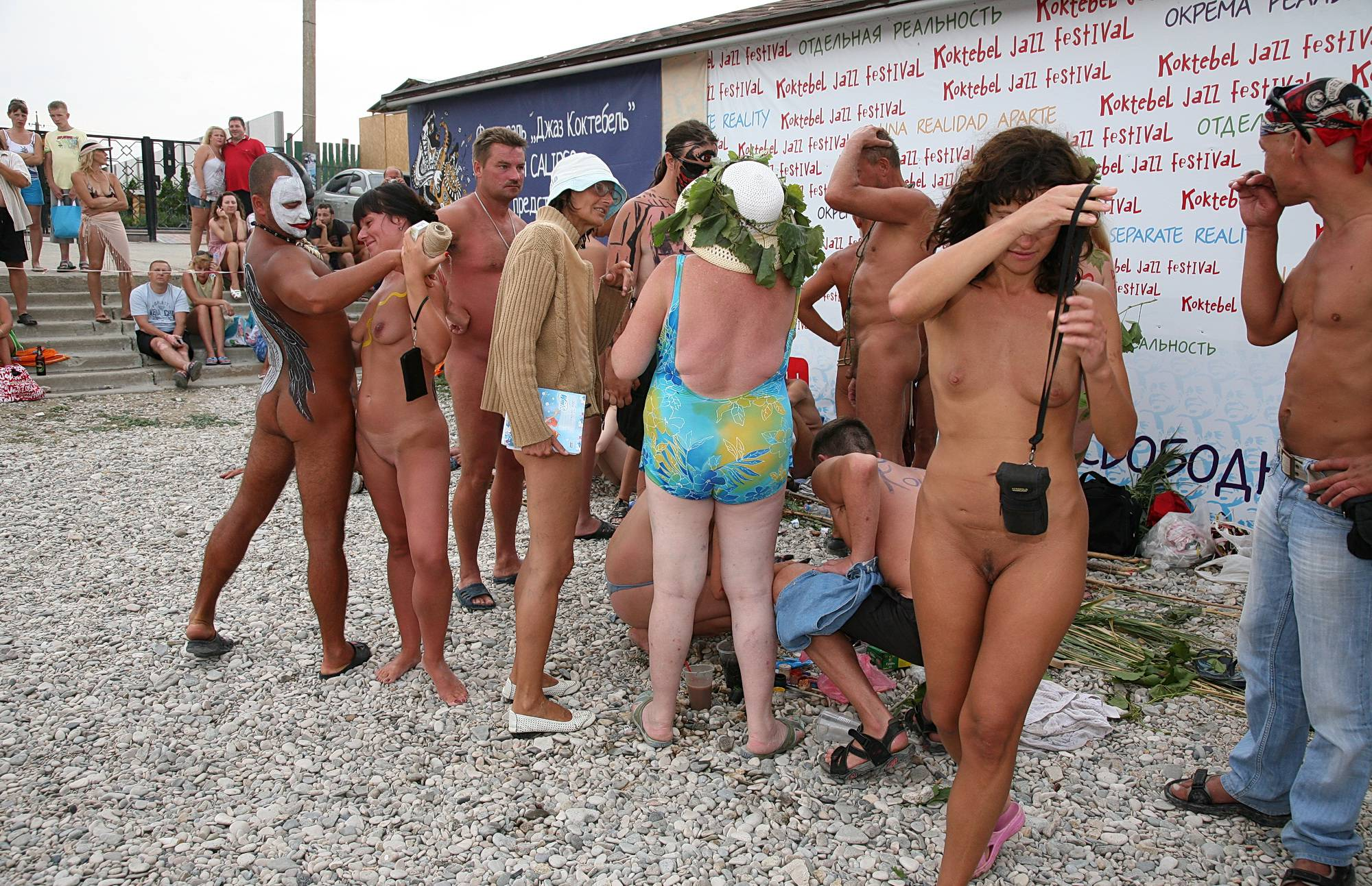 Sun-Lit Beach Naturists - 2