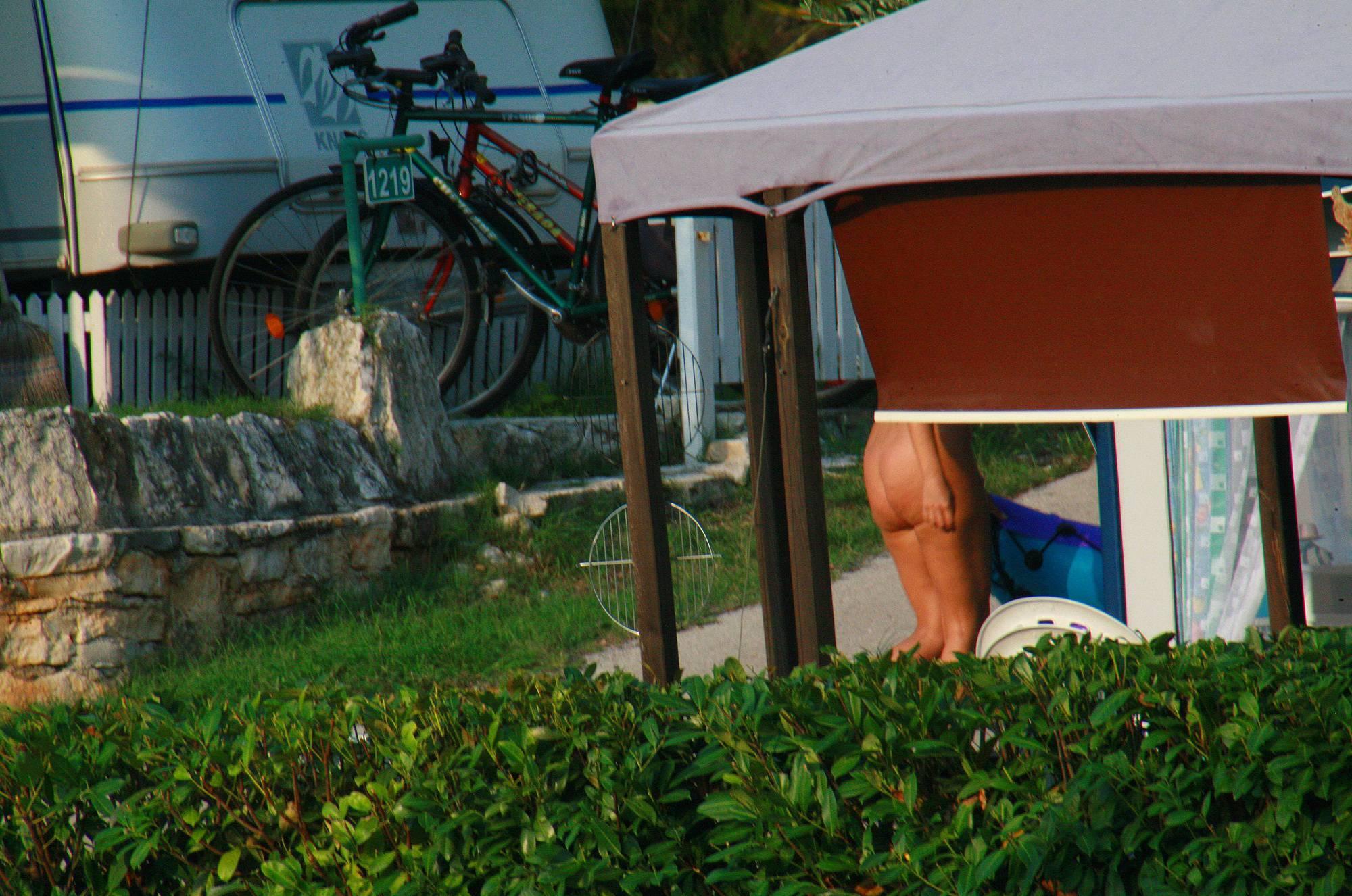 Nudist Pictures Ula FKK Public Shower - 2