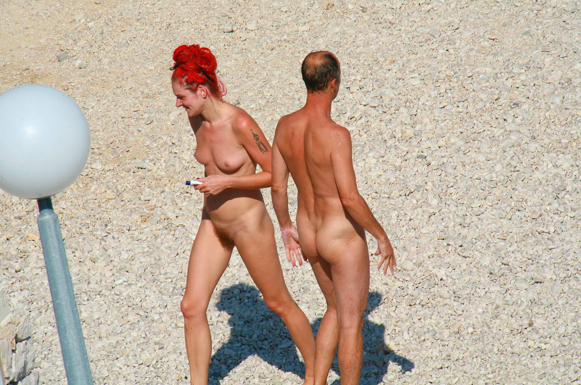 Nudist Gallery Ula FKK Red Hairstyle Girl - 2