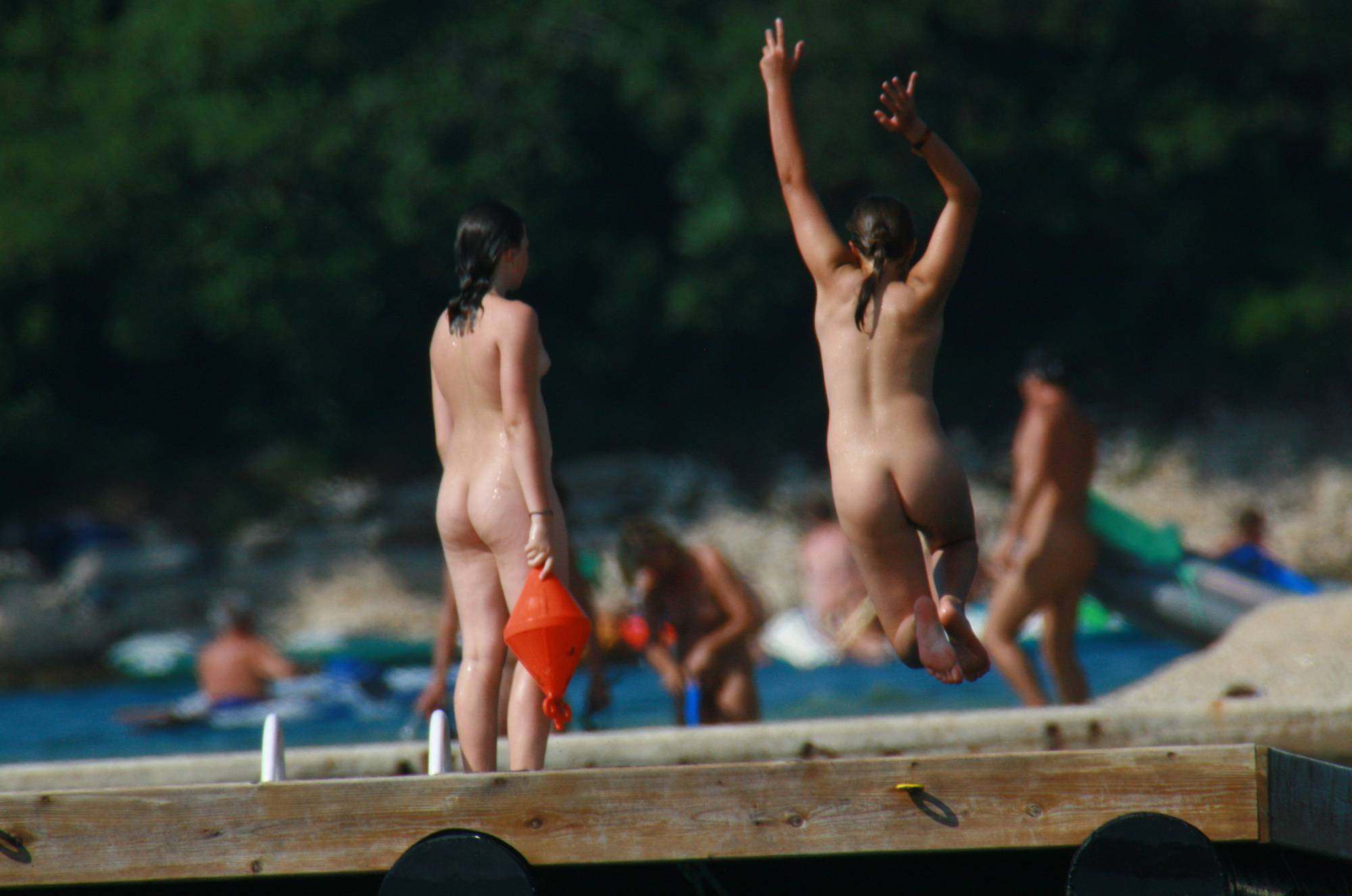 Nudist Pictures Wooden Island Freedom - 1