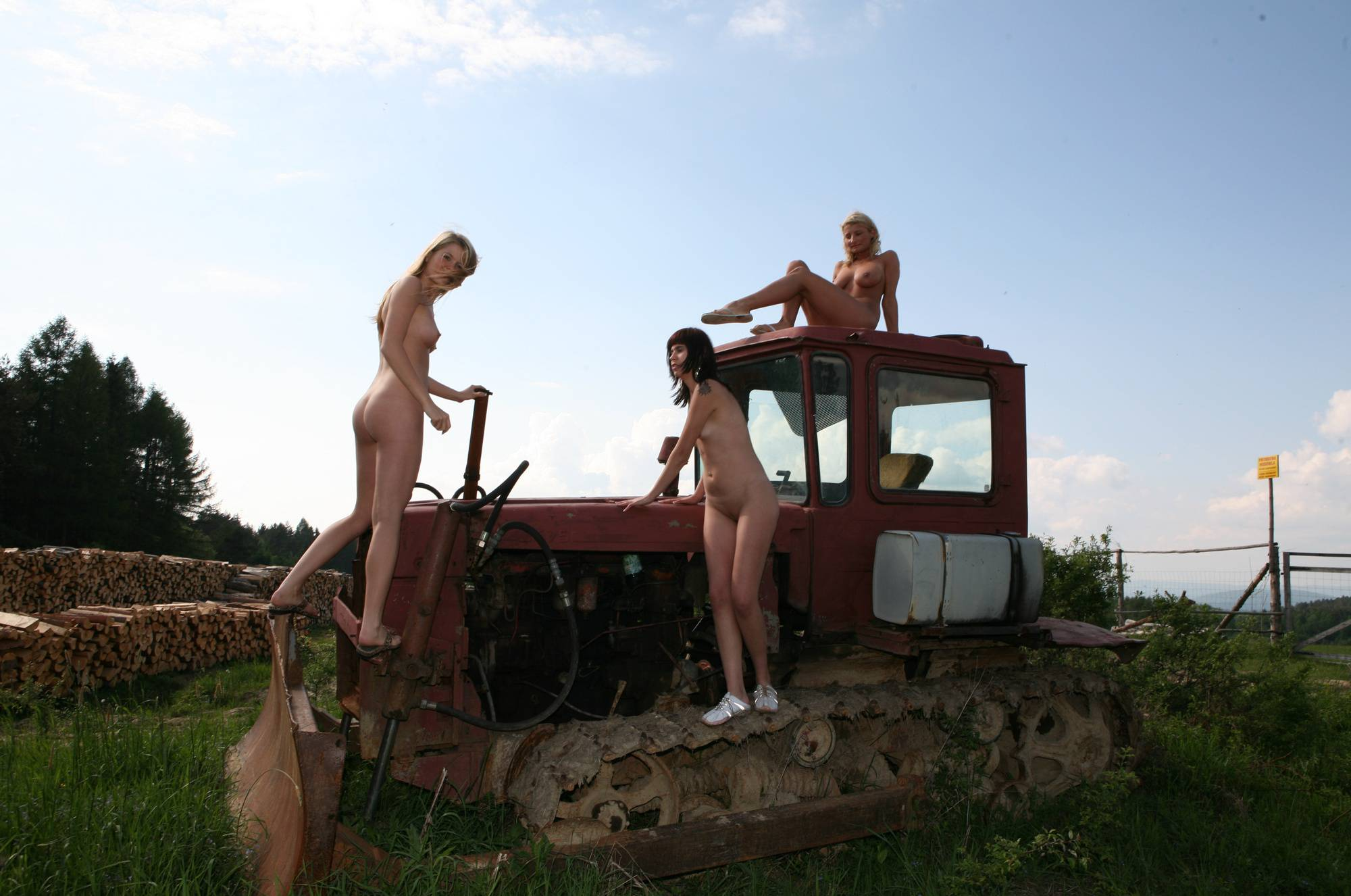 Nudist Gallery Woody Tractor Exploration - 1