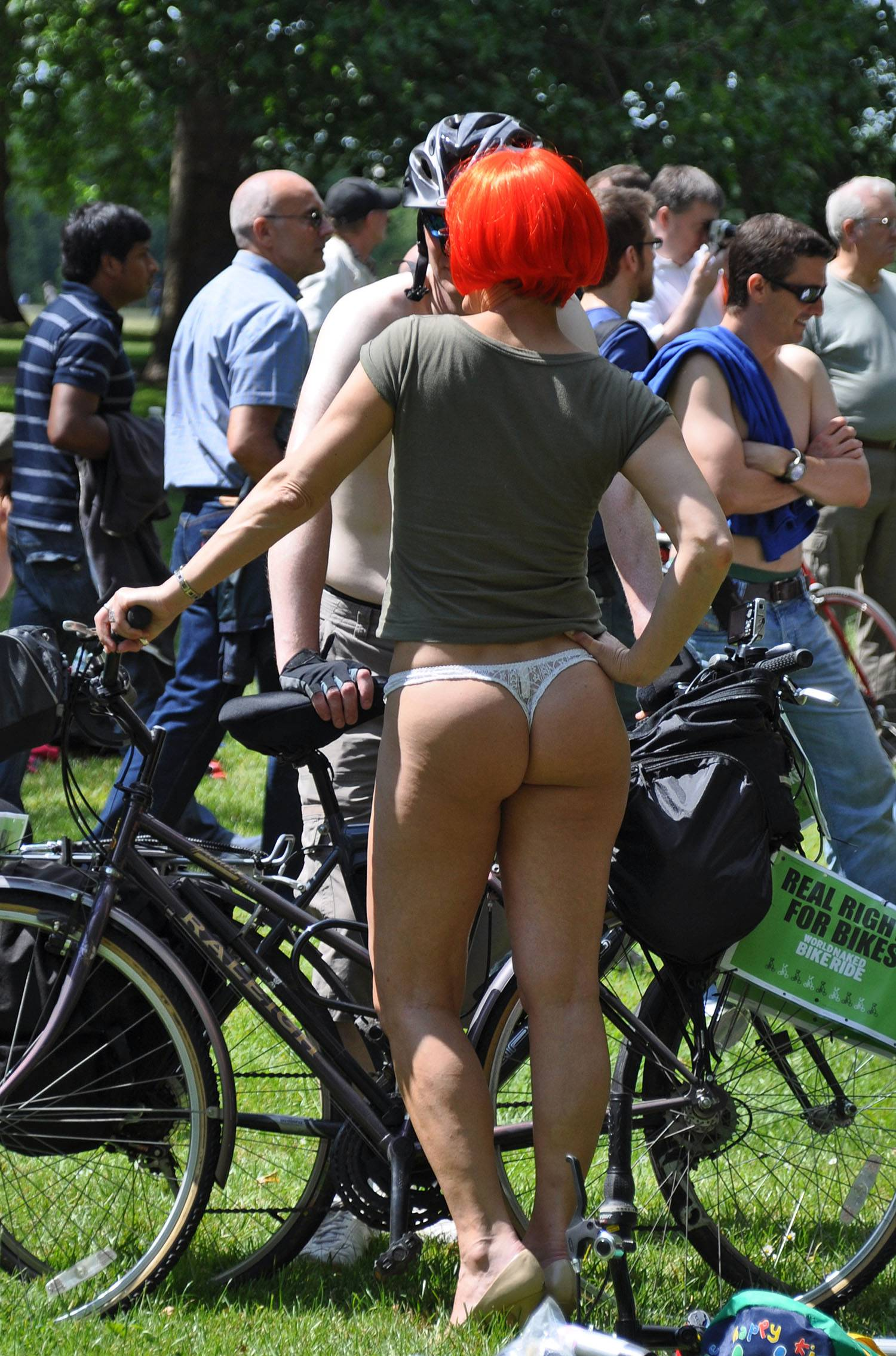 World Naked Bike Ride (WNBR) 2009 - 1