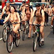 World Naked Bike Ride (WNBR) 2010