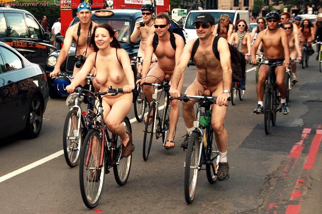Nudist Photos World Naked Bike Ride (WNBR) 2010 - 1